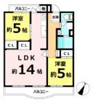釈尊寺第一住宅第二号棟 3階